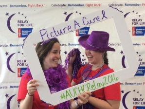 One of the activities GAC ran at the Relay for Life was the photo booth