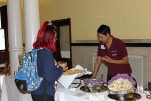 Chartwells serves healthy food options