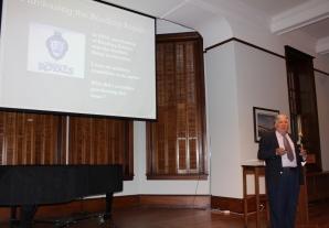 Jack Gulati presents business lecture
