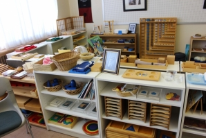 Montessori education focuses on the individual child by finding the specific tasks that appeal to them.