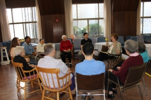 Students from the Death and Dying class gathered at the Villa to share their Life Journals