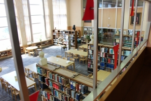 Logue Library interior