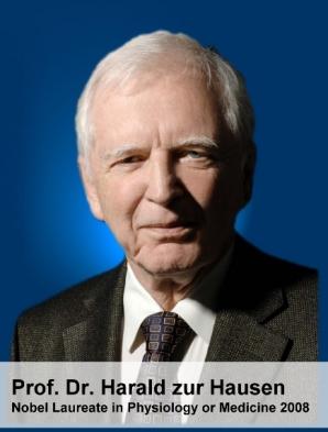 Professor Harald zur Hausen, Ph.D., Nobel Laureate in Physiology or Medicine