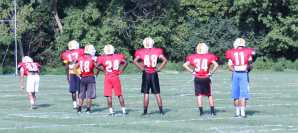 sprint football practice