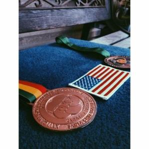 Tomas Greer's bronze medal