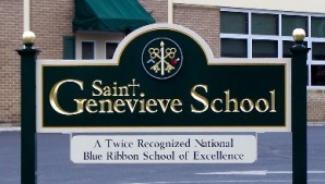 St. Gen's sign