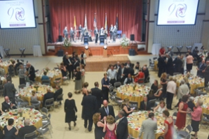 Sorgenti Arena made a fine venue for the 2015 Scholarship and 90th Anniversary Gala.