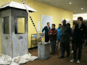Global Studies students tour the United Nations in New York City.