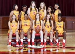 CHC's women's basketball team.