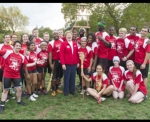 CHC's 2014 Quidditch team nabbed the trophy in the fifth annual Philadelphia Brotherly Love Cup Tournament.