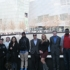 Global Studies students tour the 9-11 Memorial in NYC.